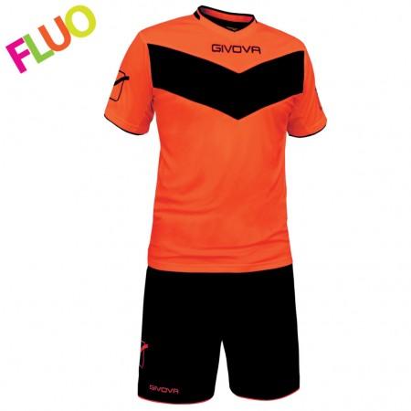 Echipament fotbal Kit Vittoria fluo GIVOVA