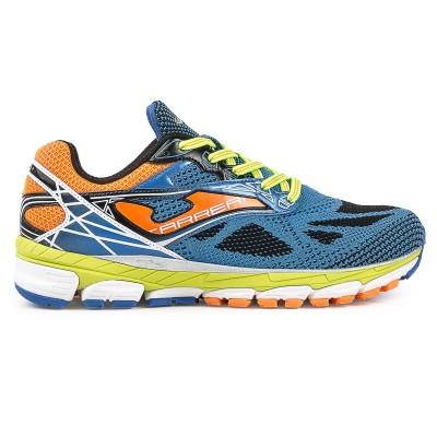 Pantofi sport alergare, R.CARRERA 604 ALBASTRU REGAL-PORTOCALIU, JOMA
